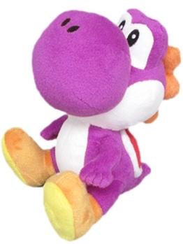 Nintendo Plüschfigur Yoshi lila (17cm) - 1
