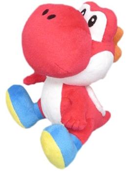 Nintendo Plüschfigur Yoshi rot (17cm) - 1
