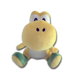 Super Mario - Gelber Yoshi Plüschfigur 17cm - 1