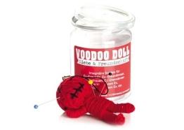 Voodoo Doll in Dose +++ LUSTIG von modern times +++ LIEBE & FREUNDSCHAFT - VOODOO-DOLL +++ I LOVE GIFTS - 1