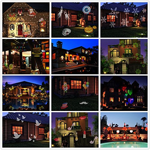 led projektionslampe halloween weihnachtsbeleuchtung. Black Bedroom Furniture Sets. Home Design Ideas