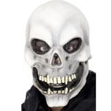 Smiffy's 22148 Totenkopfmaske zum Überziehen, Einheitsgröße -