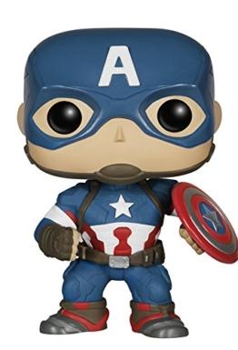 Avengers Age of Ultron Captain America POP! Wackelkopf Figur 10 cm -