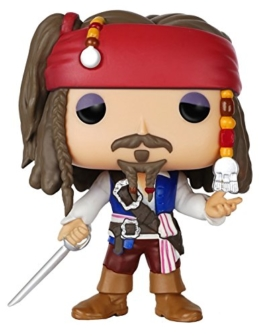 Funko 7105 - Pop  Pirates - Jack Sparrow, Aktionfigur-Speilzeug -