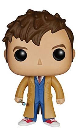 Funko - Figurine Doctor Who - 10e Doctor Pop 10cm - 0849803046279 -