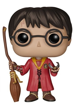Funko - Figurine Harry Potter - Harry Potter Quidditch Exclu Pop 10cm - 0849803059026 -