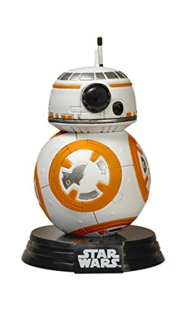 Funko FK6218 - Star Wars Episode VII The Force Awakens BB-8 Droid Vinyl Figure, 10 cm -