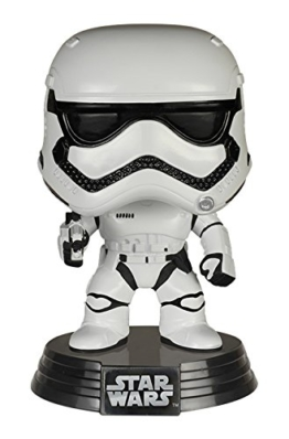 Funko FK6225 - Pop! Star Wars Episode VII The Force Awakens - First Order Stormtrooper Vinyl Figur 10 cm -