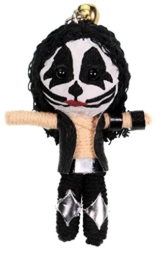 Immerschön Schlüsselanhänger Voodoo-Puppe Motiv KISS Catman Voodoo Doll -