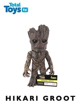 Original Groot Guardians of the Galaxy Funko Hikari Sofubi Figure Review [OV] -